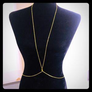 Women Body Chain Jewelry Bikini Waist Necklace